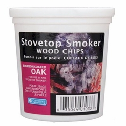 Bourbon Soaked Oak Indoor Smoking Superfine Woodchips 4 oz.