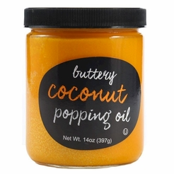 Buttery Coconut Popping Oil 14 oz.
