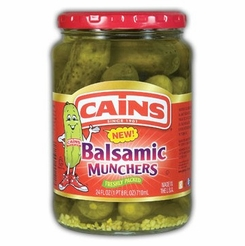 * Cains Balsamic Munchers Pickles 24 oz.
