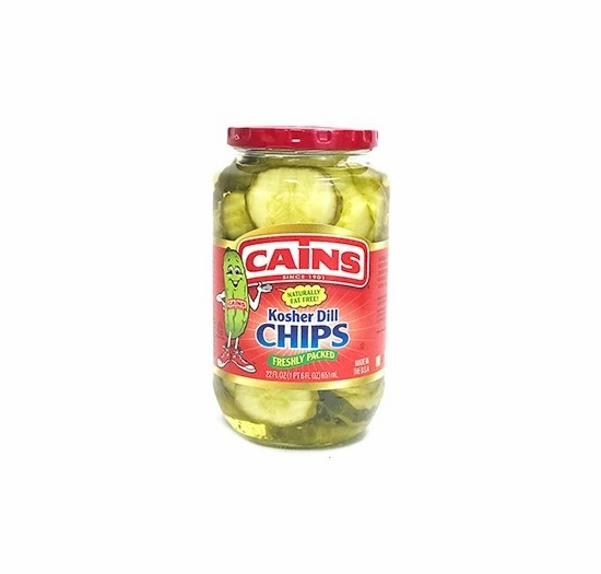 Cains Kosher Dill Chips 22 oz.
