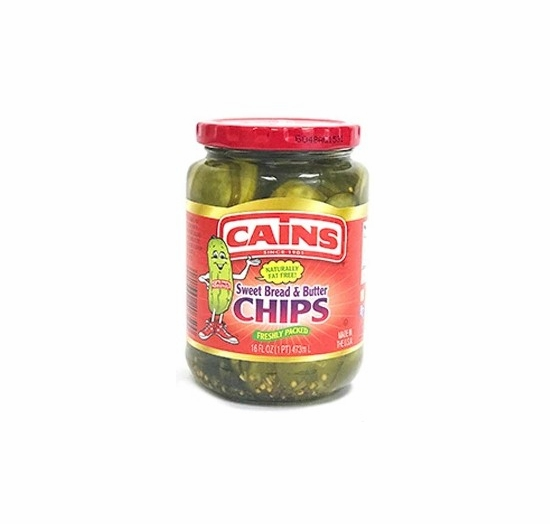 Cains Sweet Bread & Butter Chips 16 oz.