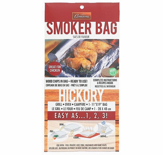 Camerons Hickory Smoker Bag