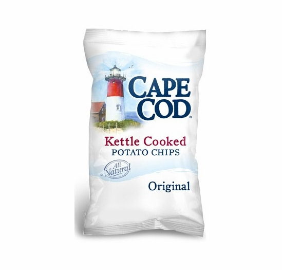 Cape Cod Potato Chips Original Case of 9/14 oz. Bags