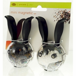 Chef'n Mini Magnetic 2-pc PepperBall & SaltBall Set