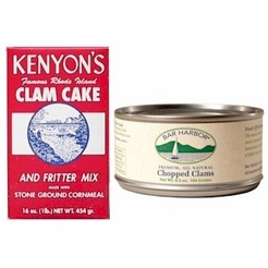 * Clam Cake Combo  (Fritter Mix and Chopped Clams)