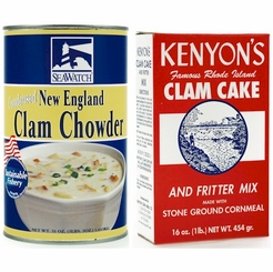 Chowders, Quahogs & Clam Cake Mixes
