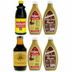 Coffee Syrup Variety Pack (6 Bottles)