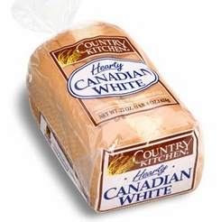 * Country Kitchen Hearty Canadian White Bread 22 oz.