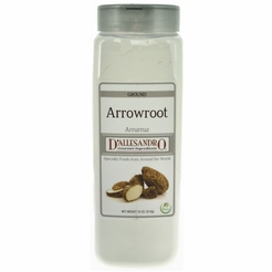 D'Allasandro Arrowroot Powder 18 oz.
