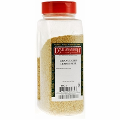 D'Allasandro  Lemon Peel Granulated 14 oz.