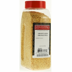 D'Allasandro Orange Peel Granulated 12 oz.