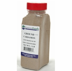 D'Allasantro Cardamon Seed Whole Black 8 oz.