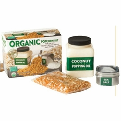 Do It Yourself (DIY) Organic Popcorn Set