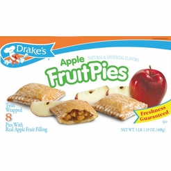 Drake's Apple Fruit Pies (2 Boxes)