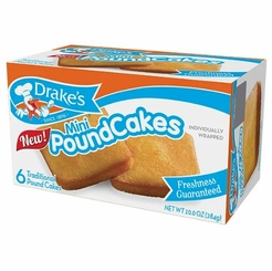 Drake's Mini Pound Cakes (2 Boxes)