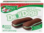 Drake's Mint Creme Devil Dogs Cakes (2 Boxes)