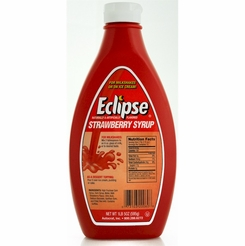 Eclipse Strawberry Syrup 6/21 oz. Bottles