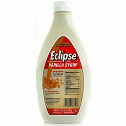 Eclipse Vanilla Syrup 6-16 oz. Bottles