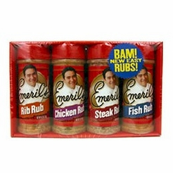 Emeril's Rubs Assorted 4-Pack