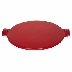 * Emile Henry Flame Top Pizza Stone Red 12 Inch