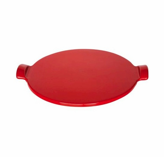 * Emile Henry Red Flame Top Pizza Stone 14.5 Inch