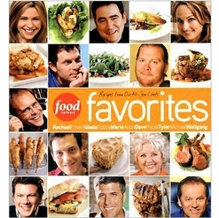 * Food Network Favorites: Recipes from Our All-Star Chefs (Hardcover)