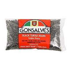 * Gonsalves Black Turtle Beans 16 oz.