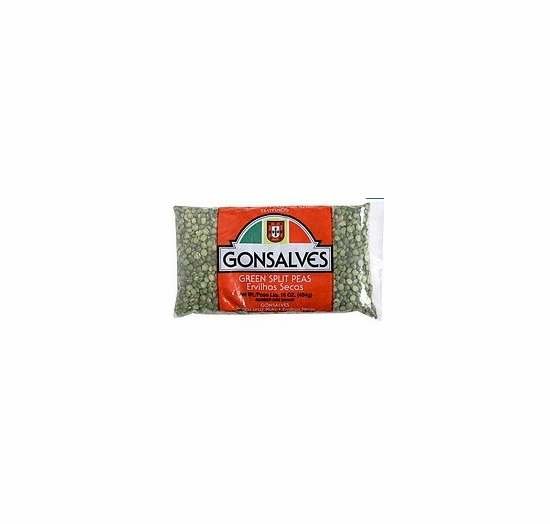 * Gonsalves Green Split Peas 16 oz.