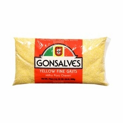 * Gonsalves Yellow Fine Grits 32 oz.