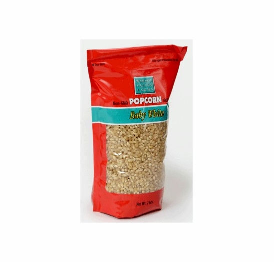 * Gourmet Baby White Popping Kernels 2 lbs.