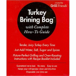 Grill Friends Turkey Brining Bag