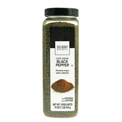 Ground Black Pepper Culinary Secrets 16 oz.