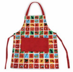 * Handstand Kids Junior Chef's Apron, Red