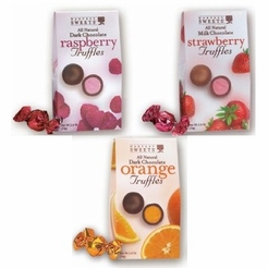 Harvest Sweets Chocolate Covered Truffles Variety 3 Pack