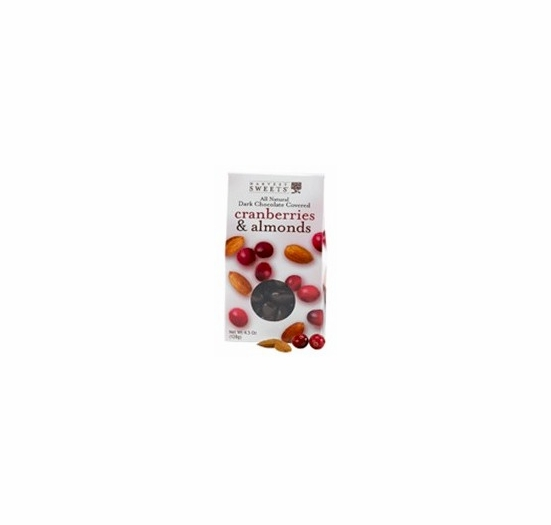 Harvest Sweets Dark Chocolate Covered Cranberries & Almonds 4.5 oz.