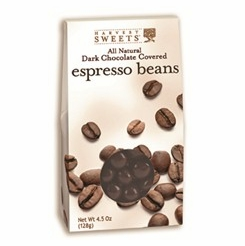 Harvest Sweets Dark Chocolate Covered Espresso Beans 4.5 oz.