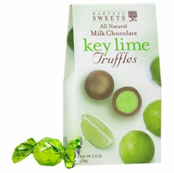 Harvest Sweets Milk Chocolate Key Lime Truffles 2.6 oz.