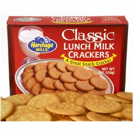 Heritage Mills Milk Lunch Crackers 12.3 oz.