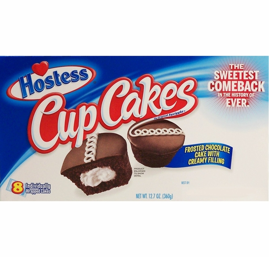 * Hostess Chocolate Cup Cakes (2 Boxes)