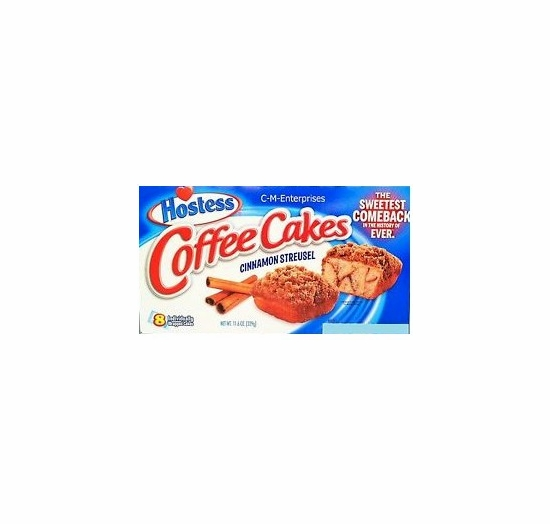 * Hostess Cinnamon Streusel Coffee Cakes (2 Boxes)