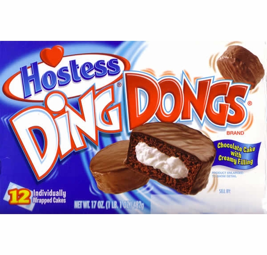 Hostess Ding Dongs (2 Boxes)