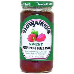 Howard's Sweet Pepper Relish 11 oz