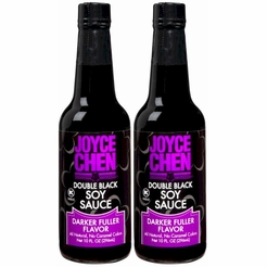 Joyce Chen Double Black Soy Sauce 10 oz. (2 Bottles)