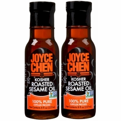 * Joyce Chen Kosher Roasted Sesame Oil 8 oz. (2 Bottles)