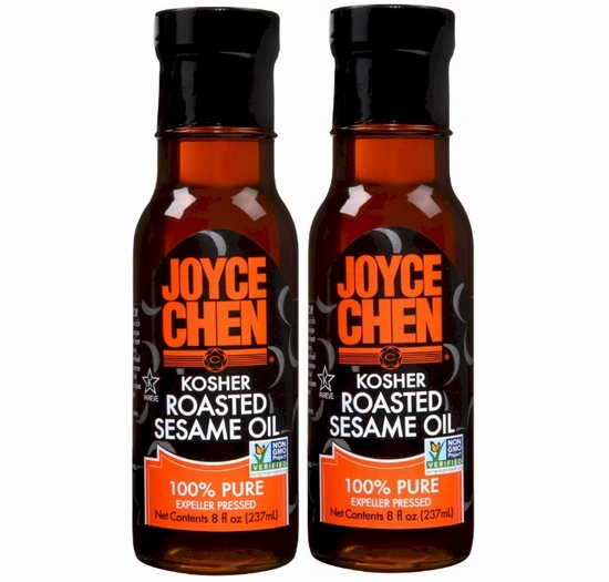 Joyce Chen Kosher Roasted Sesame Oil 8 oz. (2 Bottles)