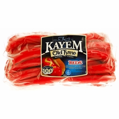 Kayem Old Tyme Reds Natural Casing Franks 2/5 LB