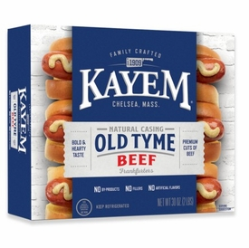 Kayem Old Tyme Natural Casing Beef Franks 2 lbs.