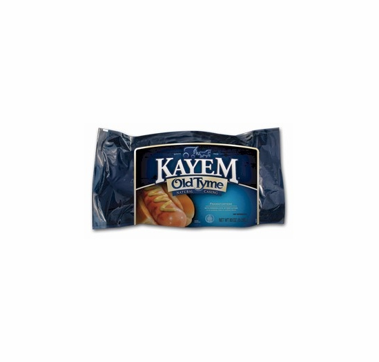 Kayem Old Tyme Natural Casing Franks 5 LBS.