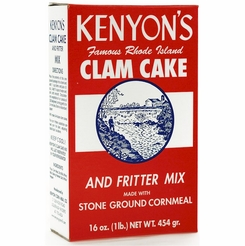 * Kenyon's Clam Cake & Fritter Mix 1 Lb.