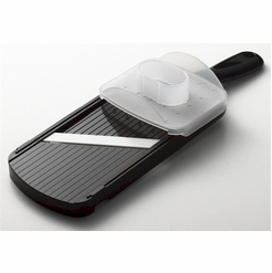 * Kyocera Ceramic Adjustable Slicer, Black (CSN-202-BK)